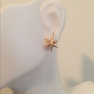 Earrings 585 rose Russian gold